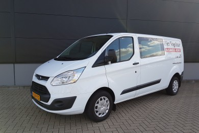 Ford Transit Dubbele cabine (6-persoon's) (trekhaak)